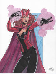 Scarlet Witch by Sean Forney