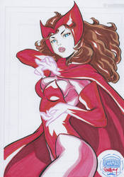 scarlet witch by Chamba