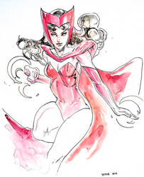 Scarlet Witch by peter nguyen