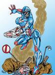 Captain Ultron Ranger By Antzurser
