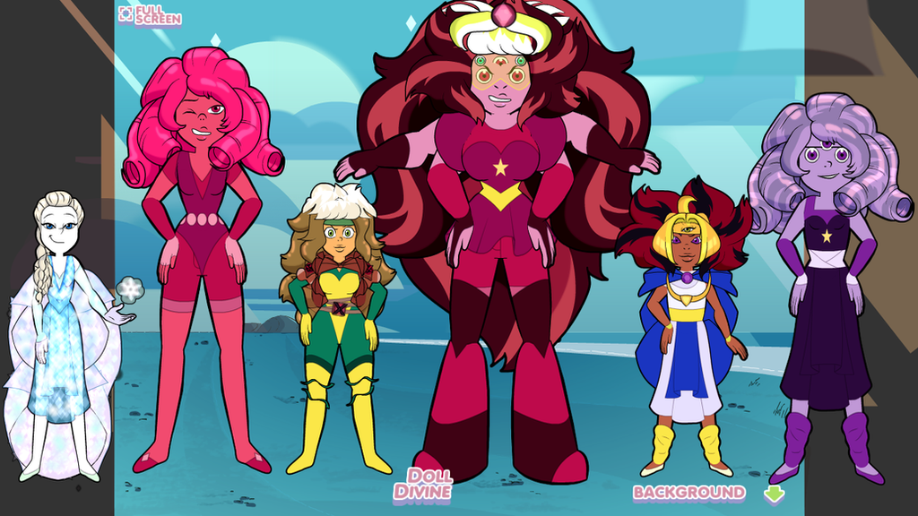 Gem Fusions by imaphantomfan