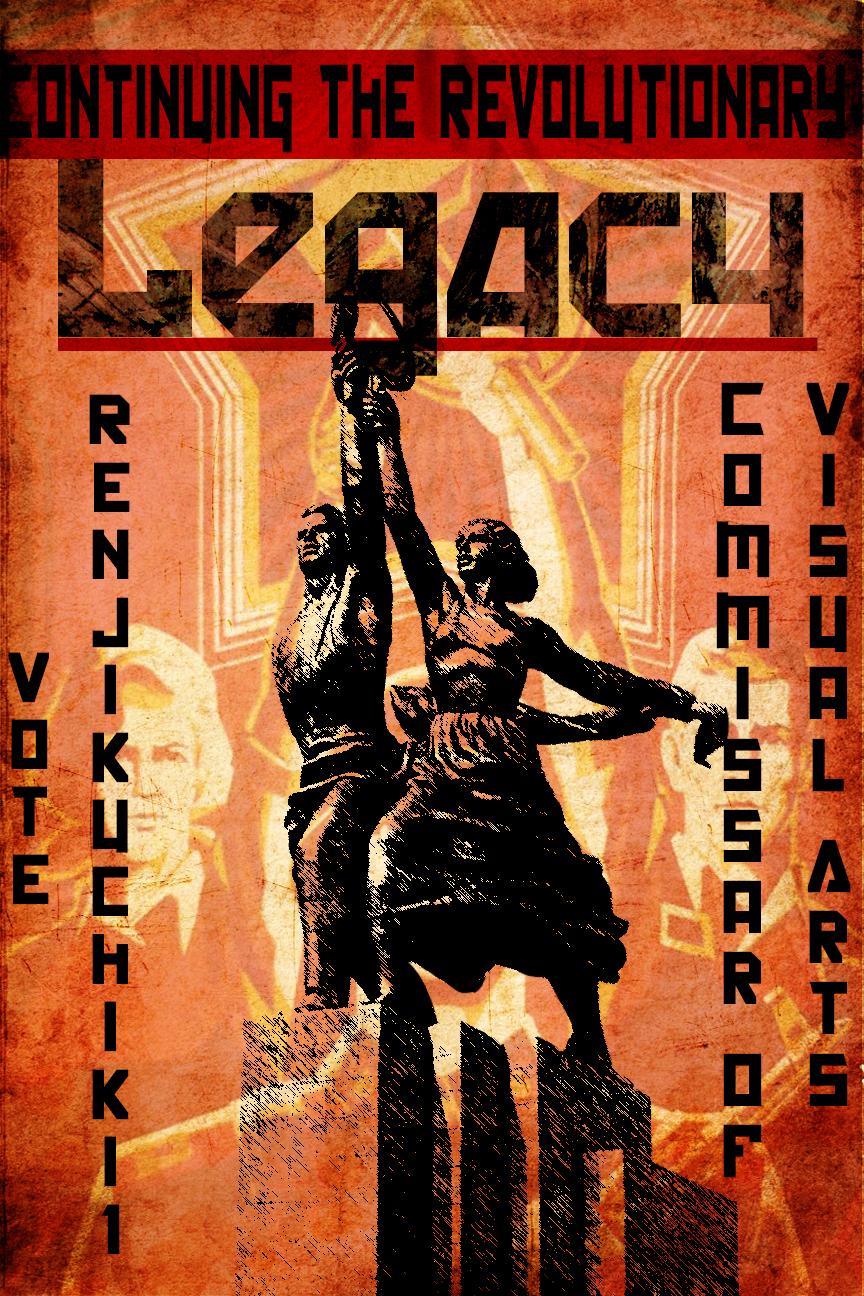 Election Poster by renjikuchiki1