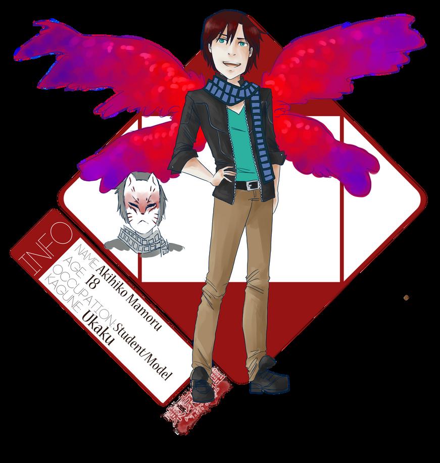 Akihiko Mamoru (Tokyo Ghoul oc) by life-of-the-dreamer