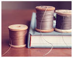 Book And Thread by baby-HQ