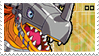 MetalGreymon stamp by Jontukka