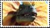 Dilophosaurus stamp by Jontukka