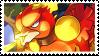 Magmar stamp