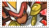 Infernape stamp by Jontukka