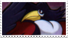 honchkrow stamp by Jontukka