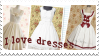 Dress stamp by Jontukka