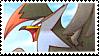 Staraptor stamp by Jontukka