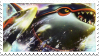 Kyogre stamp