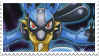 Lucario stamp by Jontukka