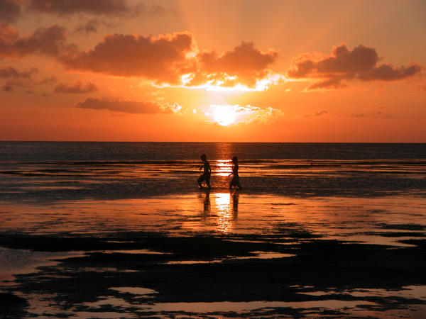 sunset at the bay2 by jayshree