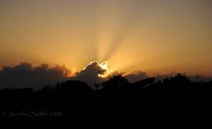 Rocky Sunset by jayshree