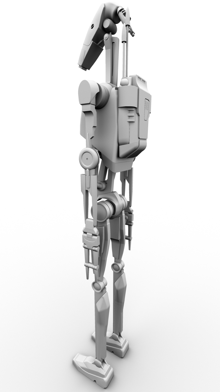 B1 Battle Droid. Finished by Kyle-Katarn145