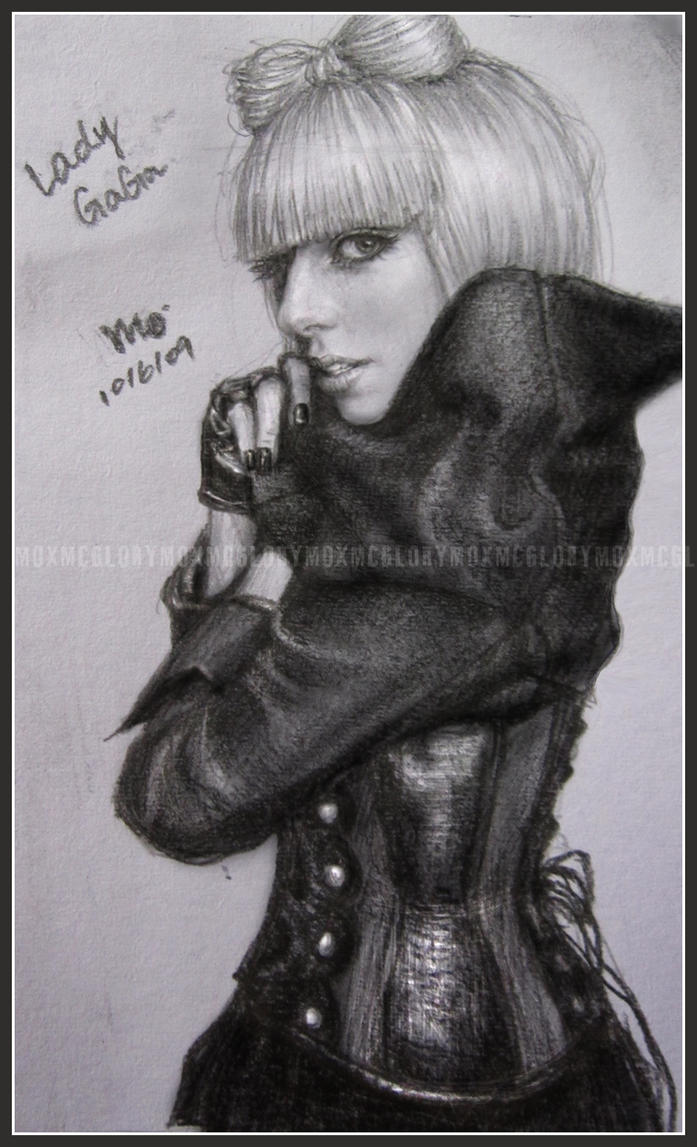 Lady GaGa by mcglory