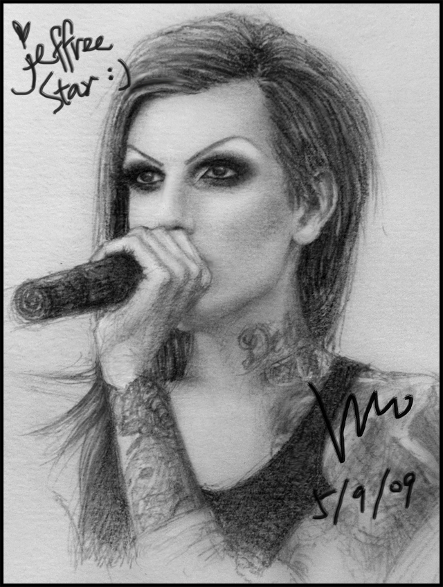 jeffree star drawing by mcglory