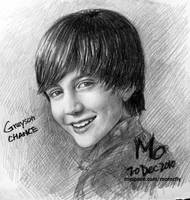 Greyson Chance drawing by mcglory