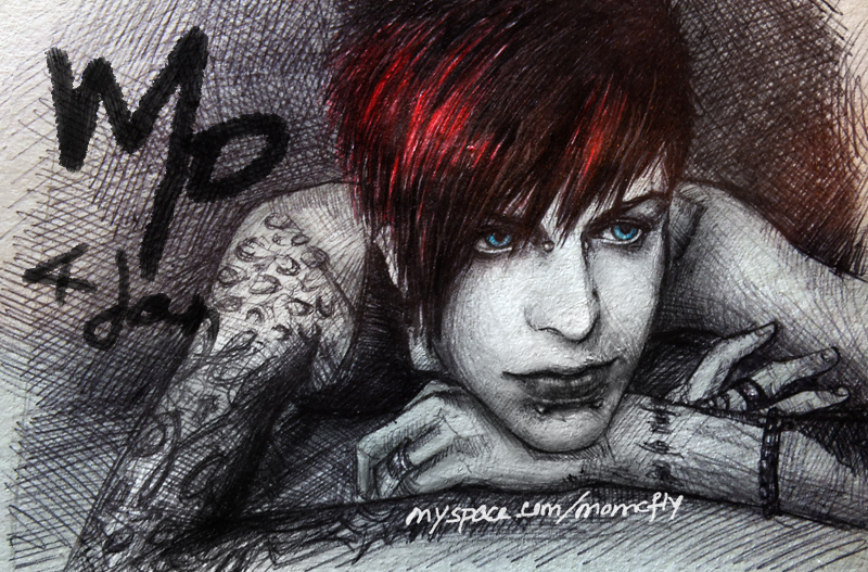 Jayy Von Monroe drawing 3 by mcglory