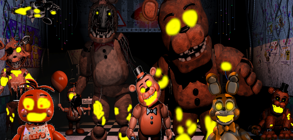 Five Nights at Freddy's 2 Halloween Edition by GoldenBear69 on ...