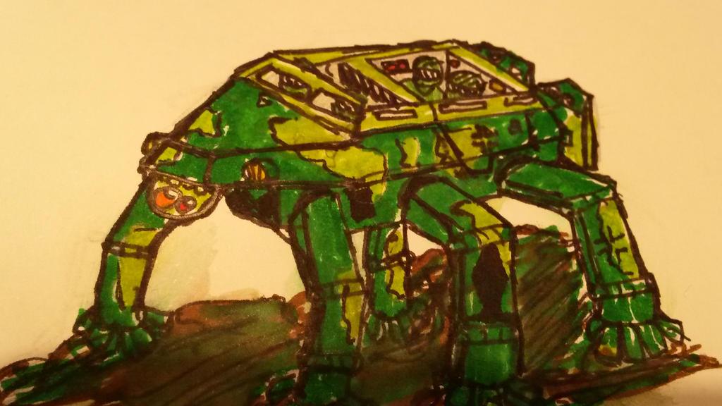 Military Walker  by Stormbreaker43