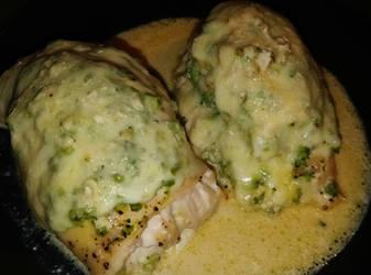 broccoli cheese chicken roll-ups by LLWSWeet
