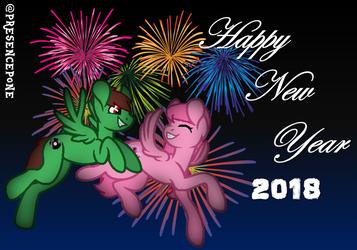 Happy New Year 2018 by PresencePone
