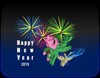Happy New Year 2019 by PresencePone