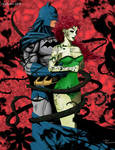 Batman and Poison Ivy_color