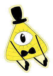 Bill Cipher by LCMetalArt