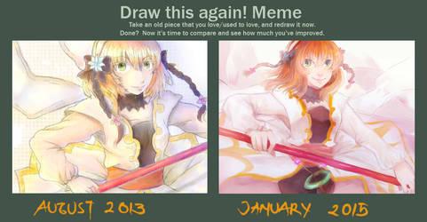 Draw Again Meme 2013 - 2015