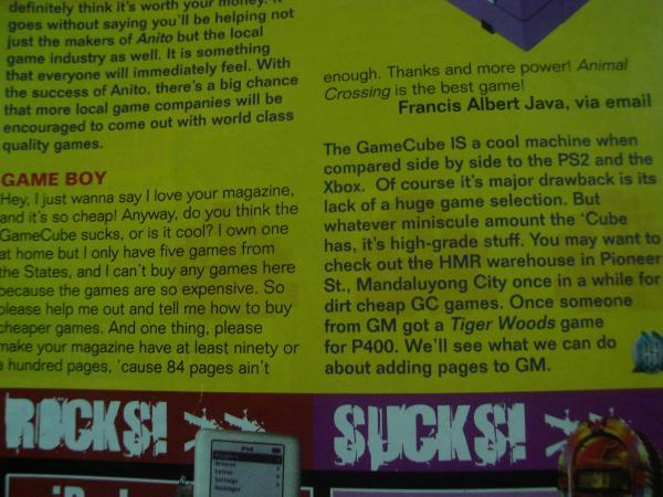 MY Letter in GamesMaster Phils by Francision