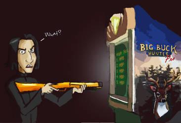 Snape's Fav Game by julvett