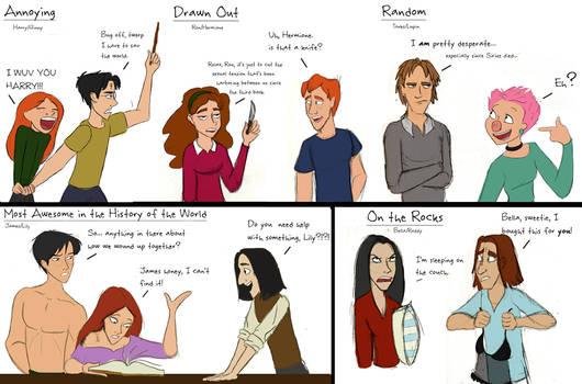 HP Relationships Doodles