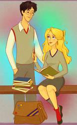 Request Three: Harry+Luna by julvett