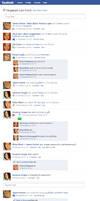 Marauders Facebook Timeline 1 by julvett
