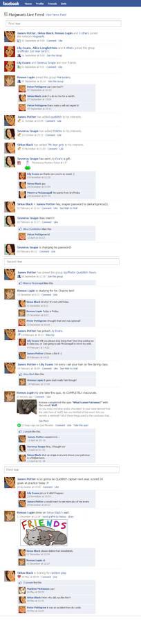 Marauders Facebook Timeline 1