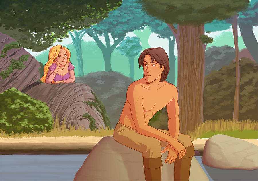 Stalker Rapunzel by julvett