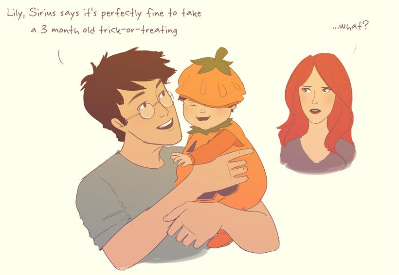 Pumpkin Harry by julvett