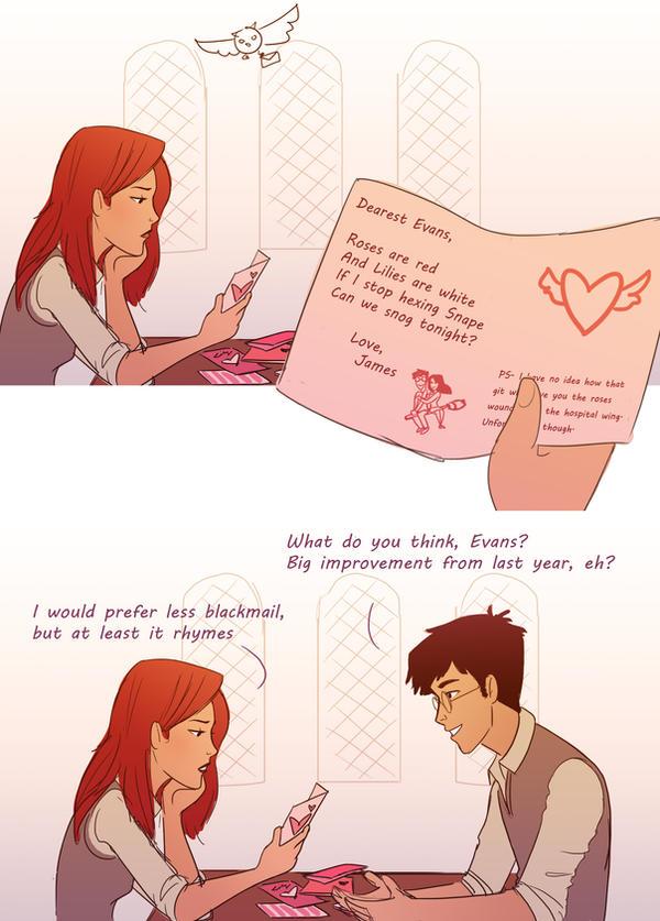 James' Romantic Valentine by julvett