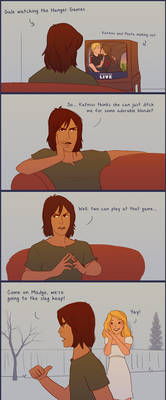 Gale Watches the Hunger Games