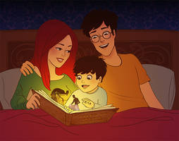 Tales of Beedle the Bard by julvett