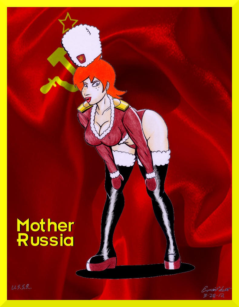 cold war cuties mother russia by imfamouse on deviantart