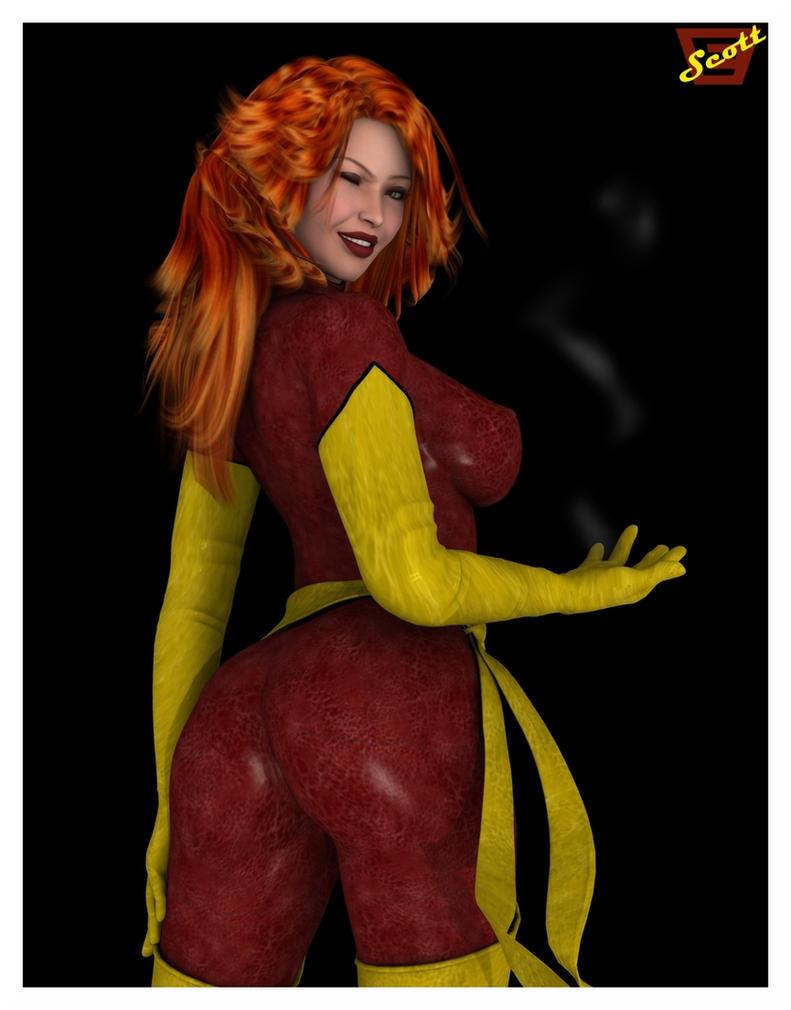 Dat Dark Phoenix by ImfamousE
