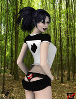 Camp W.O.O.D.Y.- Naughty Kylie by ImfamousE