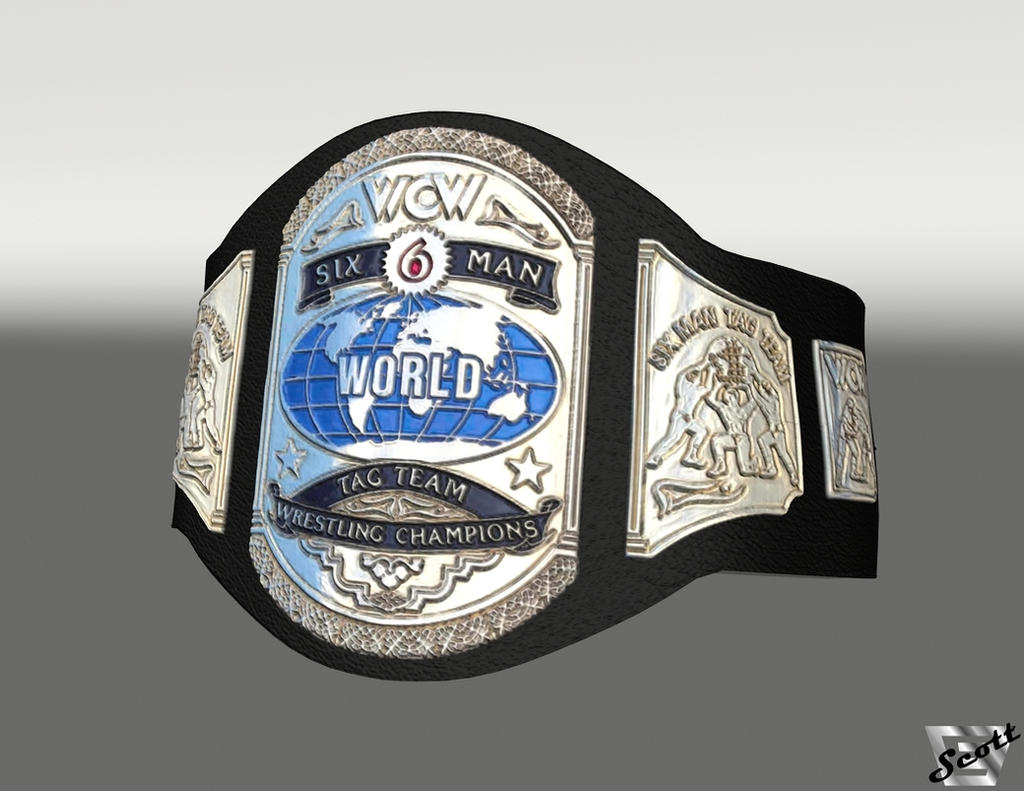 wcw 6 man tag team championship by imfamouse on deviantart