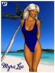 Myra Lee Bikini Poster