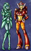 TF - Firestar, Moonracer TFA by BHS-ArchetypeRex