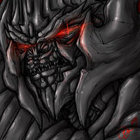 TF Movie- Megatron FACE by BHS-ArchetypeRex